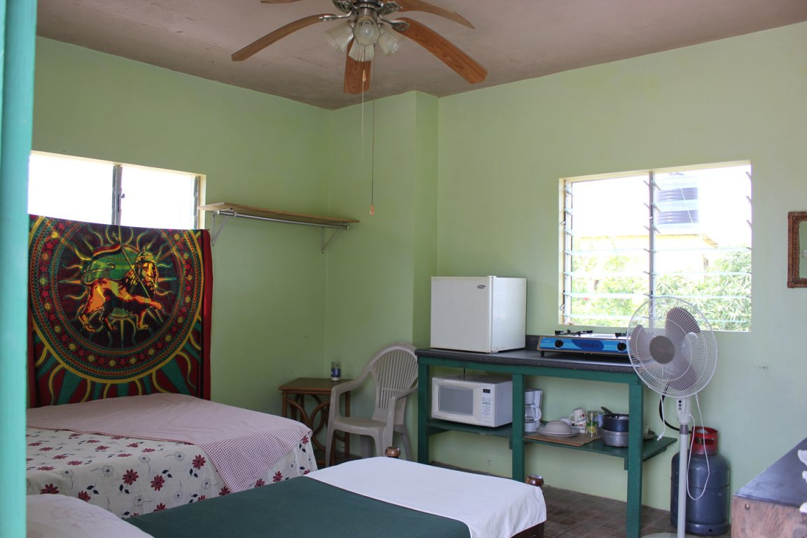 vikings rasta retreats offers budget accommodation in rural jamaica right by the beach our rooms are beautiful and breezy and come with a private